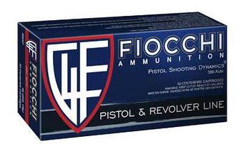 Fiocchi 380Acp 95 Grain Weight FMJ 50/1000 - F380APXX