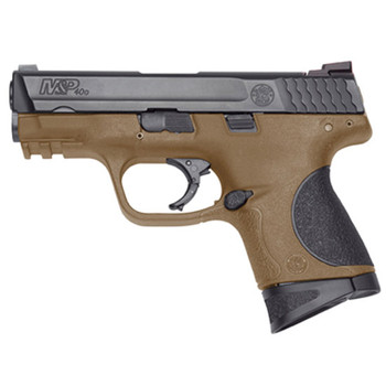 "S&w M&p 40sw 3.5"" Black/fde 10rd"
