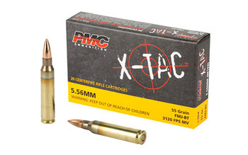 PMC Xtac 556Nato 55 Grain Weight Fmjbt 20/1000