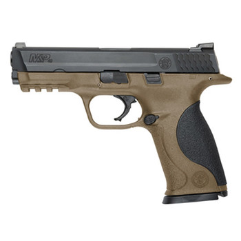 "S&w M&p 40sw 4.25"" Black/fde 15rd"