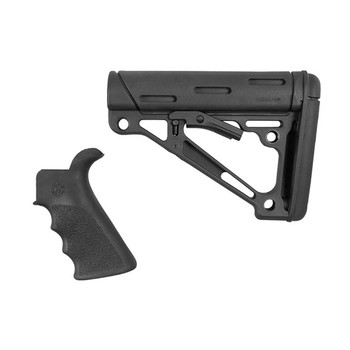 Hogue Ar-15 Grip & Overmolded Collapsible STK Mil-