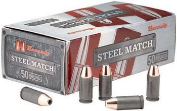 Hornady Steel Mtch 9MM 125 Grain Weight HAP 50/500
