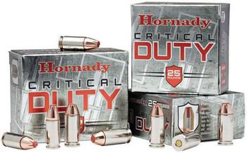 Hornady Critial Duty 9MM Luger+P 135 Grain Flexloc