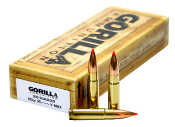 Gorilla Ammunition Ga300110vmax Gorilla Match 300