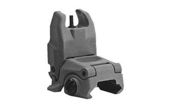 Magpul Mag247-Gry Mbus Front Sight Ar15/M16 Gray Folding Polymer