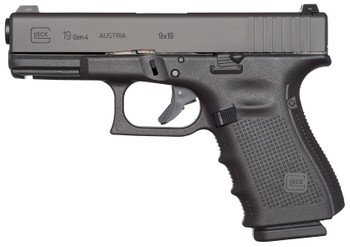Glock Ug1950203 G19 GEN 4 Compact Double 9MM 4.01""