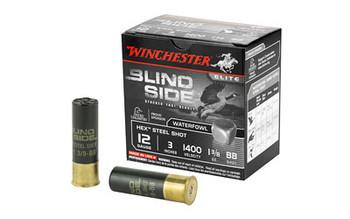 "Winchester Blind Side 12Ga 3"" BB 25/250 SBS123BB"