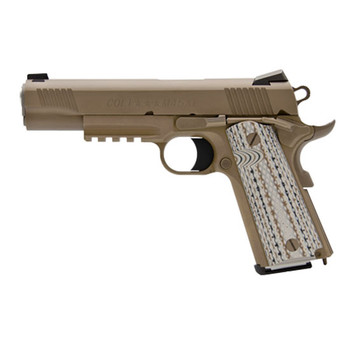 "Colt M45a1 45Acp Brown 5"" NS Rail O1070M45"