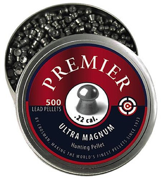 Crosman Pellet 22Cal 500Ct Domed LDP22