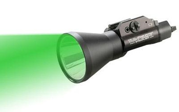 Streamlight 69227 Tlr-1 Game Spotter Green C4 LED 150 Lumens Cr123a Lithium Battery Black Anodized Aluminum