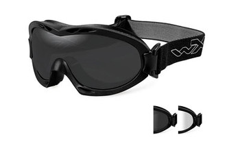Wiley X Nerve Goggles SMK Grey Matte