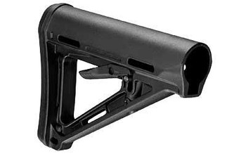 Magpul Mag400-Blk MOE Carbine Stock Black Synthetic FOR Ar15/M16/M4 Mil-Spec Tube (Not Included)