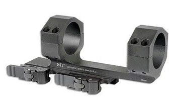 Midwest Industries INC Miqd34sm Quick Detach 1-Pc Base & Ring Combo 34Mm Black Finish