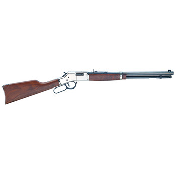 Henry Repeating Arms BIG BOY Silver 357M/38Sp Bl/W