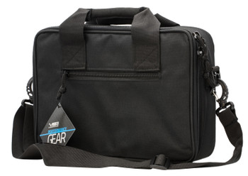 Ncstar Cpdx2971b Double Pistol Range BAG  Black