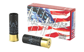 "Hornady AW 12Ga 2.75"" 325 Grain Weight Slug 5/100"