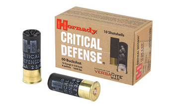 Hornady Critial Defense 12 GA 00 Buckshot BOX OF 1