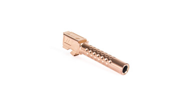"ZEV Bbl19dbrz Match Grade  Compatible With Glock 19 Gen1-5 4.03"" 416R Stainless Steel Bronze"