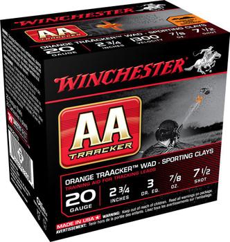 WIN AA 20GA #7.5 TRACKER ORG