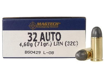 Magtech 32C Range/Training   32 ACP 71 GR Lead ROU