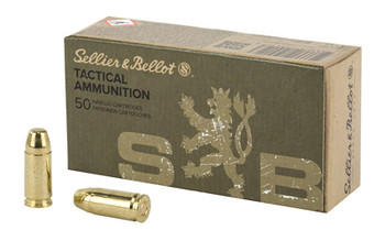 Sellier & Bellot 9MM Luger/9Mm Para Subsonic 140 G