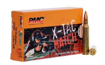 PMC Ammo .223 Remington 77Gr. OTM Sierra Bullet 20
