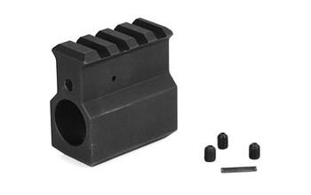 LBE Unlimited .750 GAS Block W/Rail Black ARRGB-UH