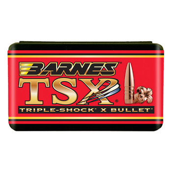Barnes 7.62Mm 123Gr TSX Flat Base 50/Box 30391