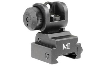 Midwest Industries Rear Flip UP Sight AR Series