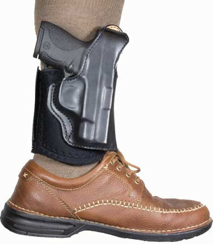 Desantis Diehard Ankle Holster RH Leather SIG P938