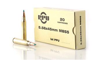 Prvi Partizan 556nato M855 62 Grain Weight Fmj 20/1000