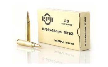 Prvi Partizan 556Nato M193 55 Grain Weight FMJ 20/1000