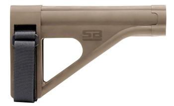 SB Tactical AR Pistol Brace SOB FDE SOB-02-SB