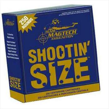 Magtech 40Sw 180Gr FMJ Shootin Size 250Ct 4/Cs