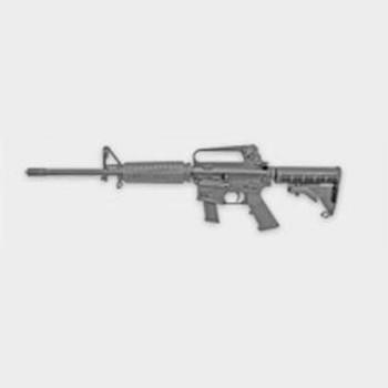 Olympic Arms K9-Gl 9MM 16 Tele Stock Flattop Glock