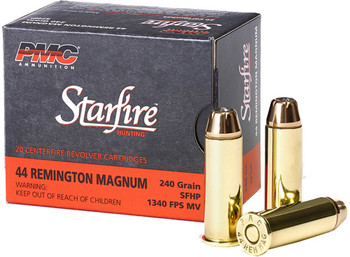 PMC Ammo .44 Rem. Mag. 240Gr. Starfire Hollow Poin