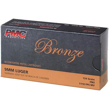 PMC BRONZE 9MM 124GR FMJ 50/20