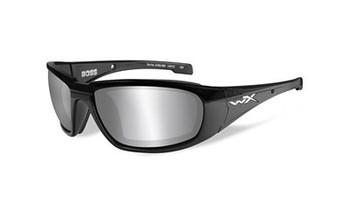 Wiley X Boss SMK Grey/Black Frame CCBOS01