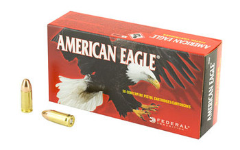 Federal AM Eagle 9MM 115 Grain Weight FMJ 50/1000