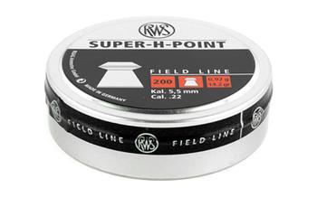RWS Super H-Point FL .22 200/Blstr 2317382