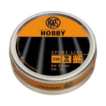 RWS Hobby Pellet 22Cal 250/Pk 2317377