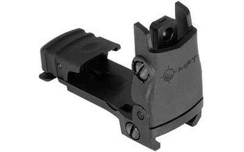 Mission First Tactical Rear BCK UP Sght W/Windage Black