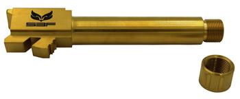 """S3F G19TTIN Glock 19 9mm 4.0"""" Gold"""