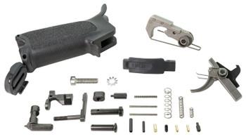 Bravo Company Parts KIT Lower Black FOR Ar-15