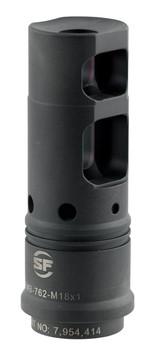 Surefire SFMB762 Suppressor Adapter 7.62 Muzzle Brake M18x1 Steyr Sako TRG 7.62mm Steel