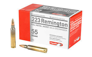 Aguila 223Rem 55 Grain Weight FMJ 50/1000 1E223110