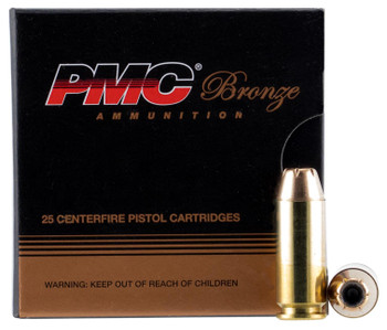 PMC Ammo 10Mm Auto 170Gr. JHP 25-Pack 10B