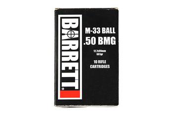 Barrett 50Bmg 661Gr M33 10Rd/Bx 14670