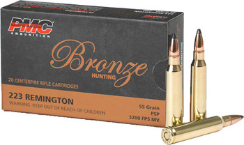 PMC Ammo .223 Remington 55Gr. Jacketed Soft Point