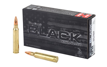 Hornady Black 223Rem 62 Grain Weight FMJ 20/200